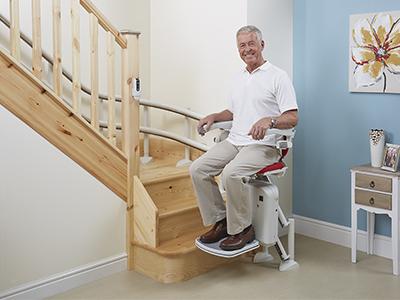 מעלון מדרגות מתעקל 3