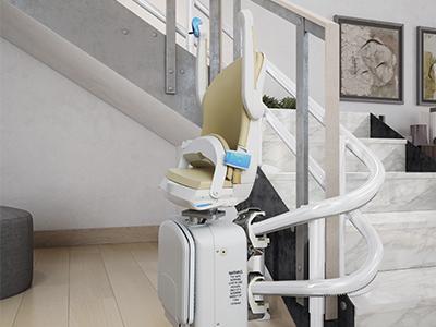 מעלון מדרגות מתעקל 4